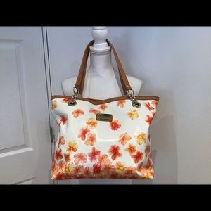 Marc Fisher sunny floral tote handbag
